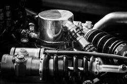 #6 Muscle Milk Pickett Racing HPD ARX-03c Honda: suspensão