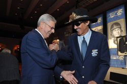 Richard Petty e Leonard Wood
