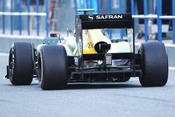 Caterham CT03 rear diffuser