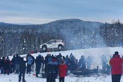 Henning Solberg e Stéphane Prévot, Ford Fiesta RS WRC, M-Sport Ford World Rally Team