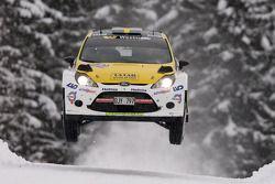 Pontus Tideman e Stig Rune, Ford Fiesta WRC