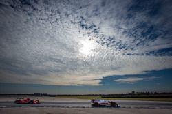 #6 Muscle Milk Pickett Racing HPD ARX-03c Honda: Lucas Luhr, Klaus Graf, #18 Performance Tech Oreca