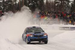Anders Grondal and Maria Andersson, Subaru Impreza STI