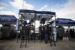 SRT Motorsports pit area