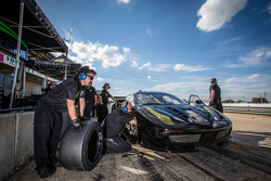 Extreme Speed Motorsports team members at work