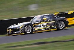#36 Erebus Motorsport, Mercedes SLS AMG GT3: Bernd Schneider, Thomas Jäger, Alex Roloff