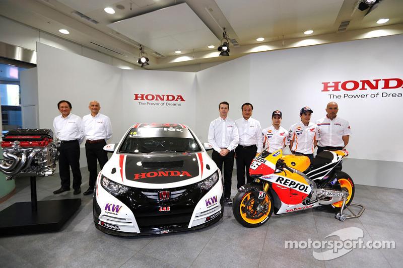 Тьягу Монтейру, Дани Педроса и Марк Маркес. Пресс-конференция Honda Racing, особое событие.