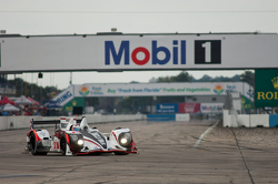 #6 Muscle Milk Pickett Racing HPD ARX-03c: Lucas Luhr, Klaus Graf