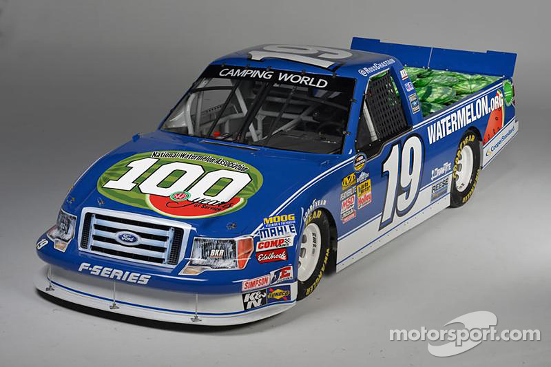 One of four Brad Keselowski Racing paint schemes for 2016