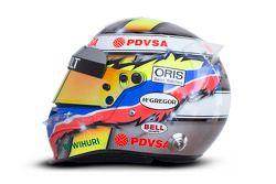 The, kask, Pastor Maldonado, Williams F1