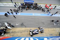 Pastor Maldonado, Williams and team mate Valtteri Bottas, Williams unveil the Williams FW35