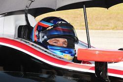A.J. Allmendinger prueba el Penske Racing Chevrolet