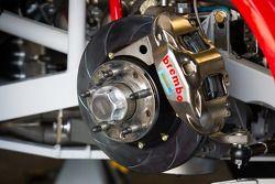 Disk brake detail