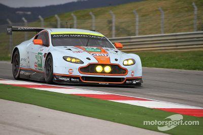 Aston Martin GTE test