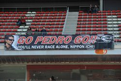 Pancarta para Pedro de La Rosa, Piloto de Desarrollo de Ferrari