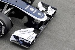 Williams FW35 voorvleugel