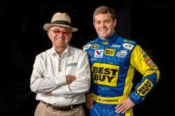 Ricky Stenhouse Jr. with Jack Roush