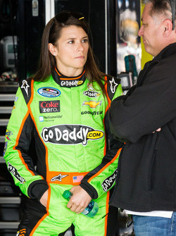 Danica Patrick with her father T.J.