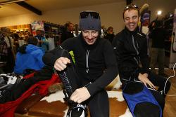 Майк Роккенфеллер и Джейми Грин. Зимний лагерь Audi, особое событие.