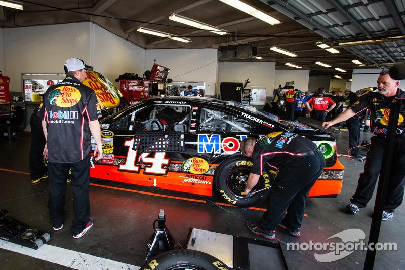 De auto van Tony Stewart, Stewart-Haas Racing Chevrolet