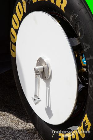 La voiture de Danica Patrick, Stewart-Haas Racing Chevrolet