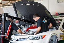 Les mécaniciens Swan Racing Toyota