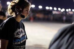 A female mechanic