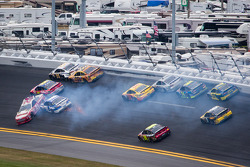 Trevor Bayne, Wood Brothers Racing Ford, Scott Speed, Ford, Josh Wise, Front Row Motorsports Ford, A