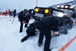 Preparations for the start in the Arctic