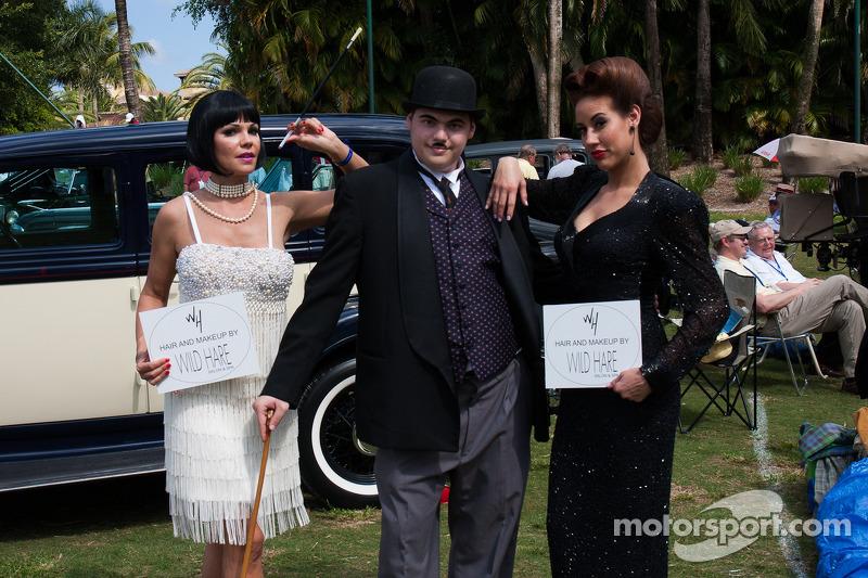 Выставка Boca Raton Concours d'Elegance, воскресенье.