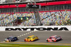 Brad Keselowski, Penske Racing Ford, Joey Logano, Penske Racing Ford, Kevin Harvick, Richard Childre