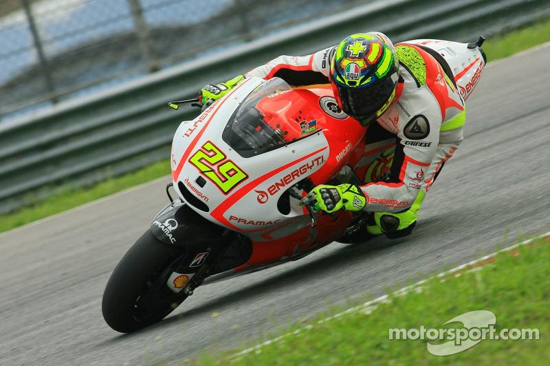 2013: Andrea Iannone, Pramac Ducati