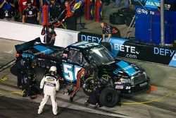 Pit stop for Darrell Wallace Jr.