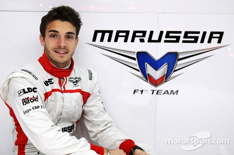 Last-gasp Marussia call-up