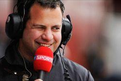 Ted Kravitz, Sky Sports Pitlane Reporter
