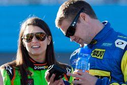 Danica Patrick e Ricky Stenhouse Jr.