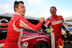 GT pole Alessandro Balzan e Max Papis