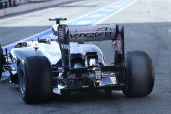 Williams FW35 rear diffuser ve arka kanat