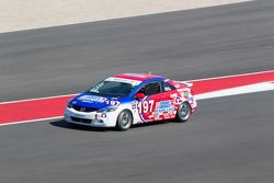 #197 RSR Motosports Honda Civic SI: Corey Fergus, Owen Trinkler