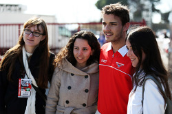 Jules Bianchi, Marussia F1 Team con los fans