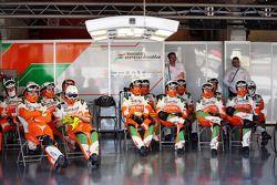 Sahara Force India F1 Team monteurs