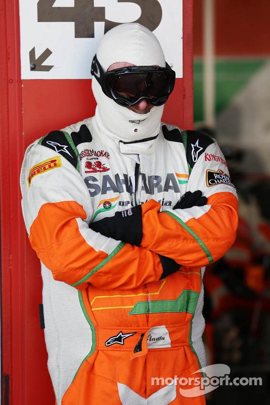 Sahara Force India F1 Team mecânico