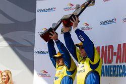 Race winners Bill Auberlen and Paul Dalla Lana