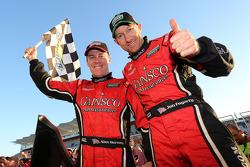 Os vencedores Alex Gurney e Jon Fogarty
