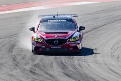 #70 Mazdaspeed/Speedsource Mazda6 GX: Tom Long, Sylvain Tremblay