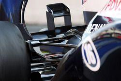Williams FW35 arka kanat detay