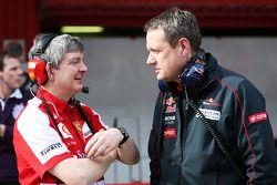 Steve Clark, Ferrari et Steve Nielsen, Scuderia Toro Rosso