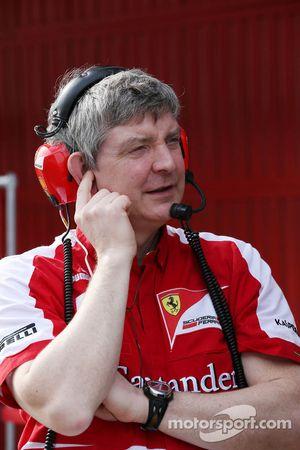 Steve Clark, Ferrari