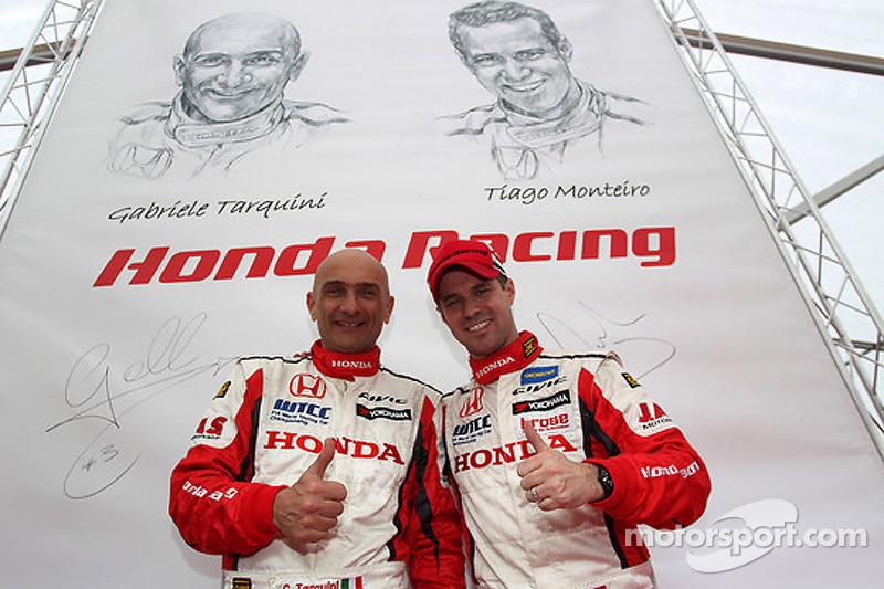 Gabriele Tarquini e Tiago Monteiro