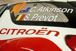 Chris Atkinson and Stéphane Prévot, Citroën DS3 WRC, Citroën Total Abu Dhabi World Rally Team